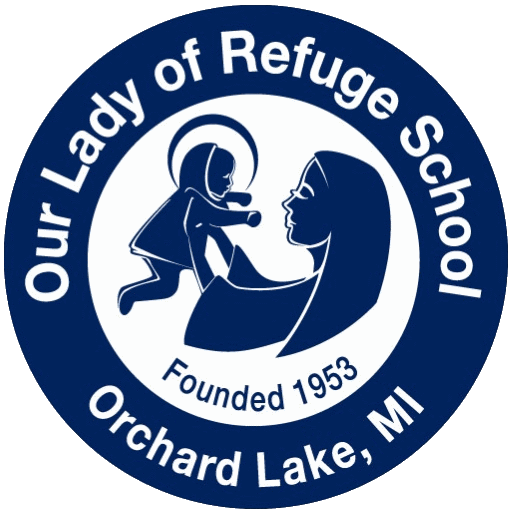 Our Lady of Refuge School Logo