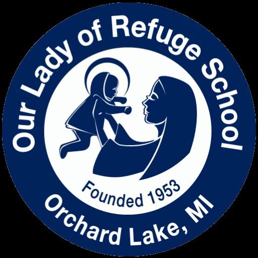 Our Lady of Refuge School Logo