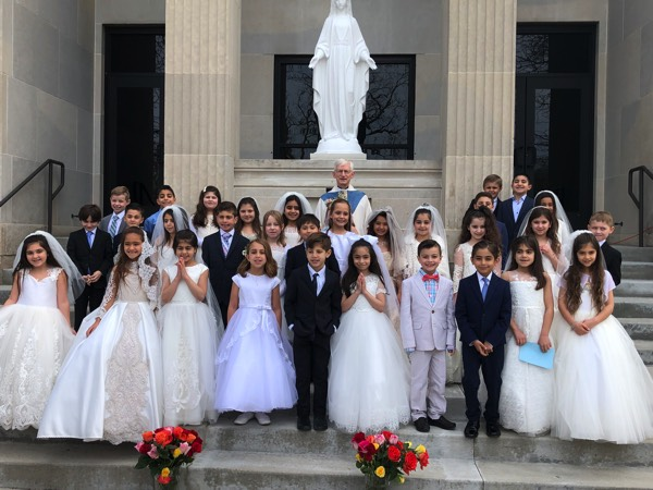 First Communion May Crowning 2019