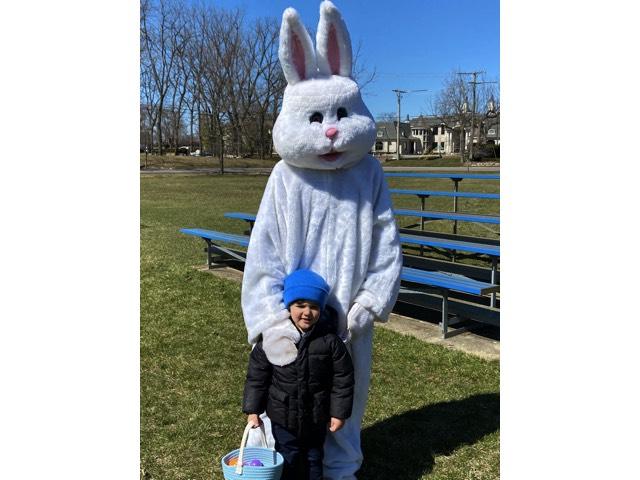 Preschool Easter Bunny Visit